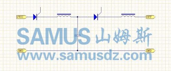 附加电路电容上的电和串双硅充放电容上的电并连同时释放形成宽脉冲.